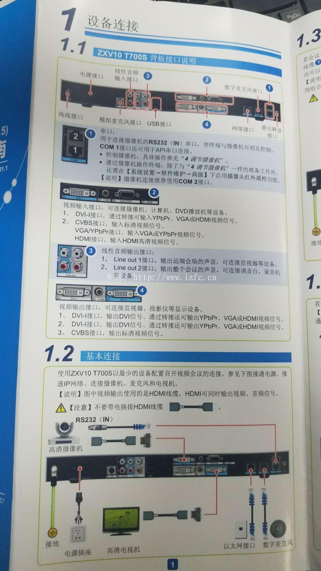 实战中兴ZXV10 T700S终端含T700S产品介绍、安装教程、竞品对比及故障解决 视频会议 第5张