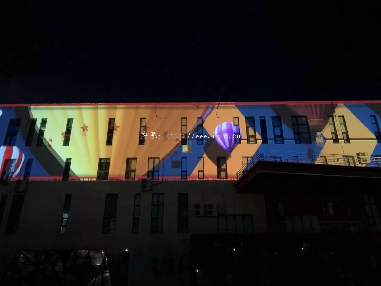 楼体特效应用于青岛啤酒节 大屏幕显示 第6张