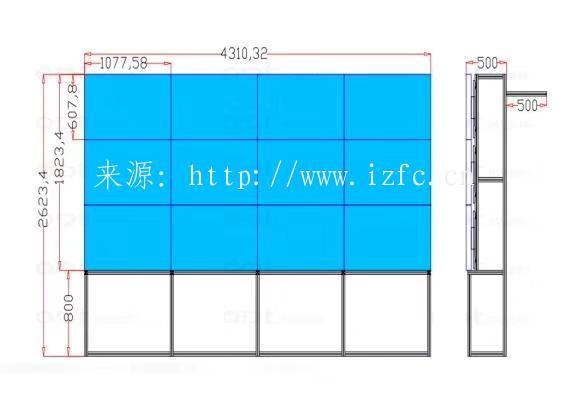 液晶拼接屏效果图展示! 大屏幕显示 第4张