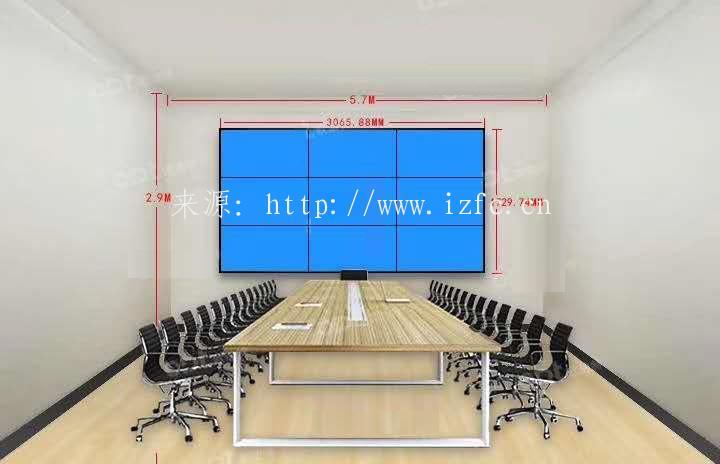 液晶拼接屏效果图展示! 大屏幕显示 第2张
